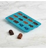 Trudeau Ens. 2 moules à chocolat en silicone robots de Trudeau