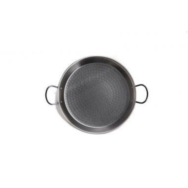 Paella Pan 50cm w/handles, black