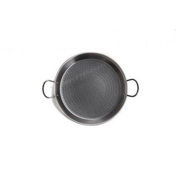 Poêle à paella 50cm poignées, noir