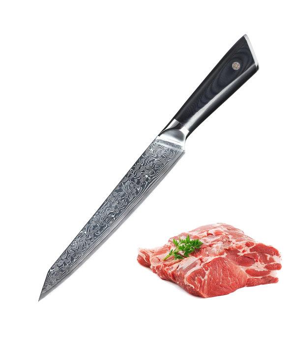 Senshi Damascus Steel 20 cm Slicing Knife