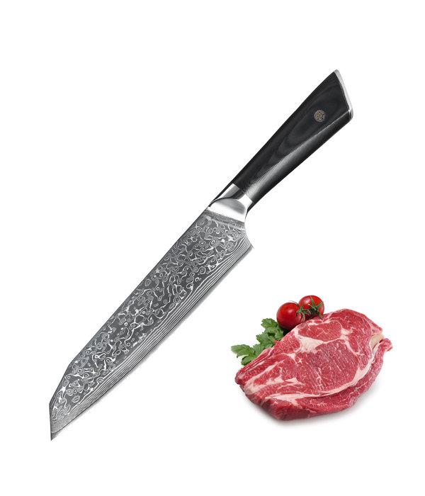 Senshi 18 cm Damascus Steel Santoku Knife