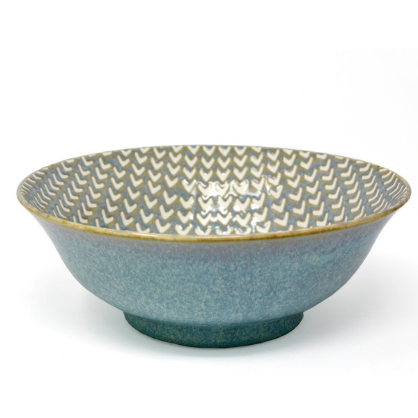 BIA CHEVRON Footed Serving Bowl 20.5cm