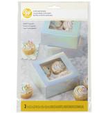 Wilton Wilton Iridescent Cupcake Boxes, 3-Count Wilton Iridescent Cupcake Boxes, 3-Count Wilton Iridescent Cupcake Boxes, 3-Count  Report incorrect product info or prohibited items Wilton Iridescent Cupcake Boxes, 3-Count