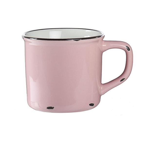 Pink Tin Mug