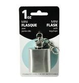 Mini flasque 1 oz avec porte-clés