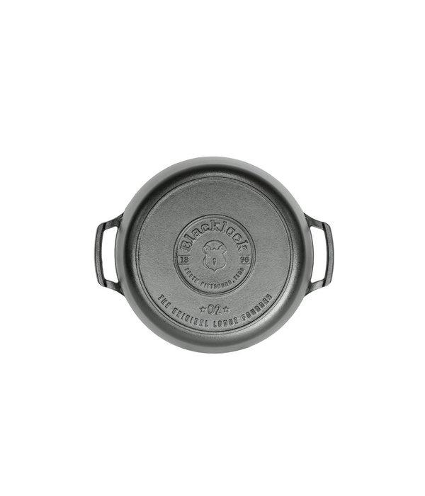 Cocotte en fonte 5.5qt triple préparé Blacklock de Lodge
