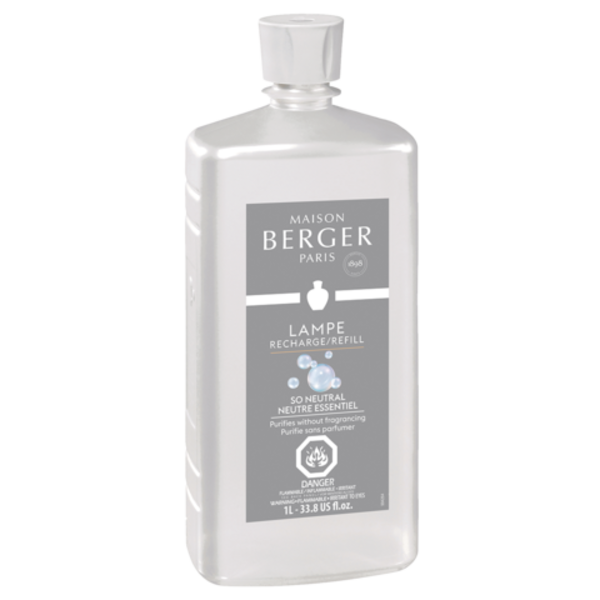 Racharge 1L Neutre Essentiel de Maison Berger Paris