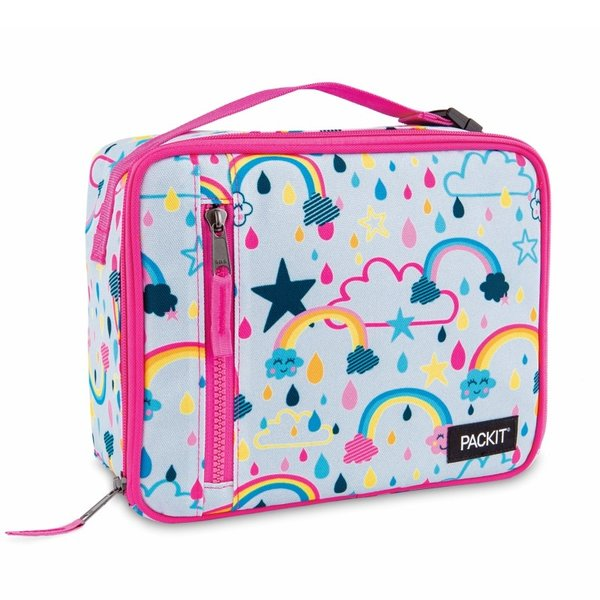 PACKIT CLASSIC Freezable Lunch Box, rainbow
