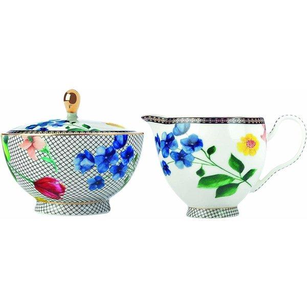 """Sucrière et Cremière Contessa """"Tea's & C's"""" de Maxwell & Williams"""