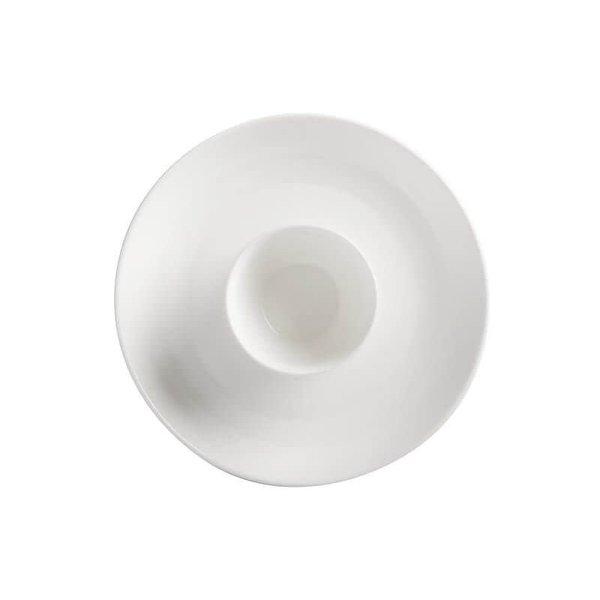 """Plateau ''Chip & Dip"""" 30cm en porcelaine blanc de Maxwell & Williams"""