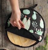 """Now Designs Réchaud Tortilla """"Cacti"""" 11"""" de NowDesigns"""