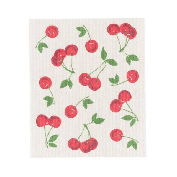 NowDesigns Eco Swedish Sponge Cloth Cherries