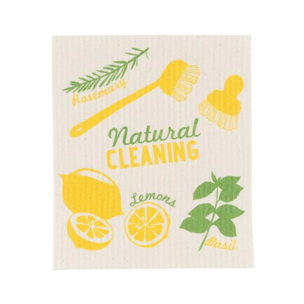NowDesigns Eco Swedish Sponge Cloth Lemons