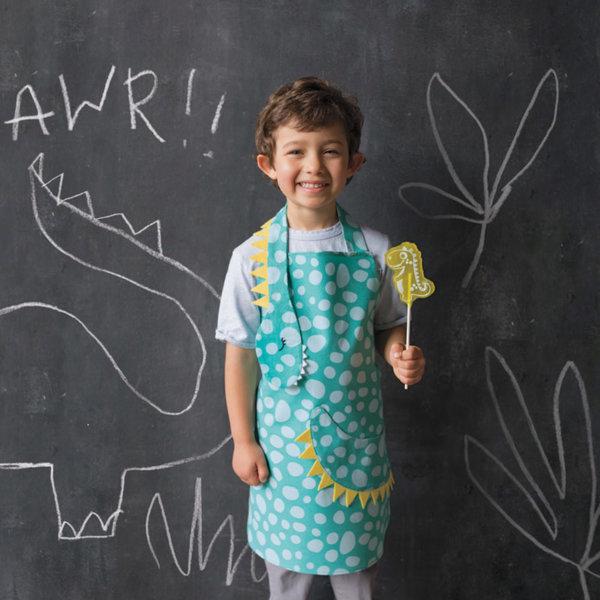 NowDesigns Dino Daydream Kid's Apron