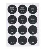 Now Designs Ensemble de 72 étiquettes réutilisables, anglais