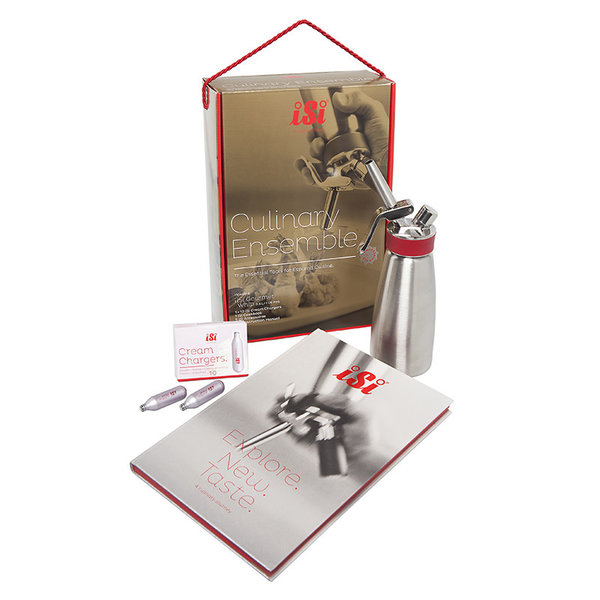 ISI GOURMET WHIP 0.5L SET (FRENCH)