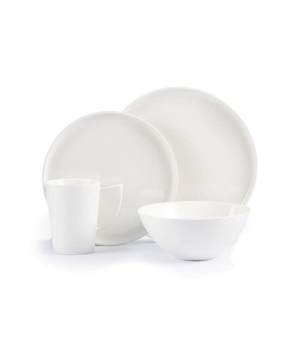 """Brilliant Ensemble à vaisselle 16mcx """"Signature"""", blanc"""