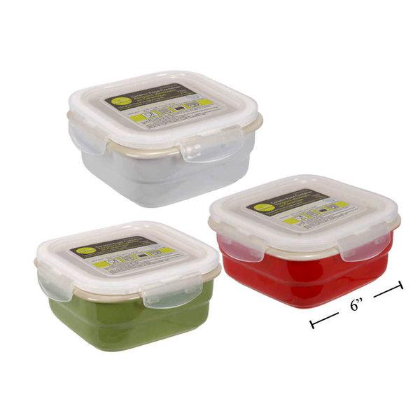 Ceramic container, assorted colours
