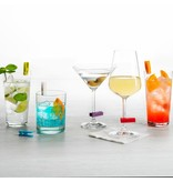 Trudeau TRUDEAU SET OF 6 GLASS CHARMS