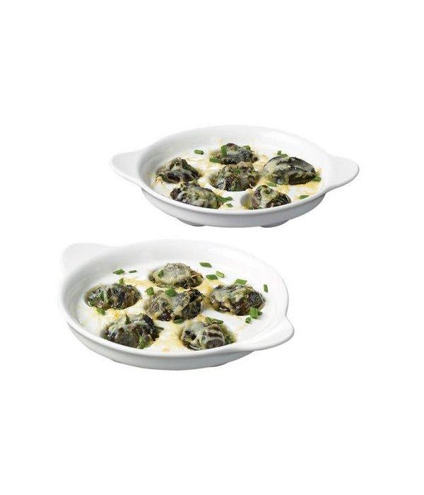 Starfrit Set of 2 Escargot Plates