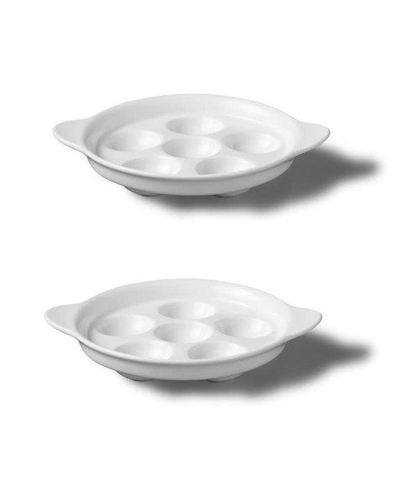 Starfrit Gourmet Bistro Starfrit Set of 2 Escargot Plates