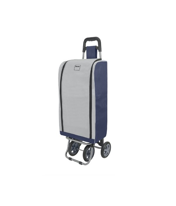 Metaltex Lotus Shopping Trolley with Insulated Portable Bag
