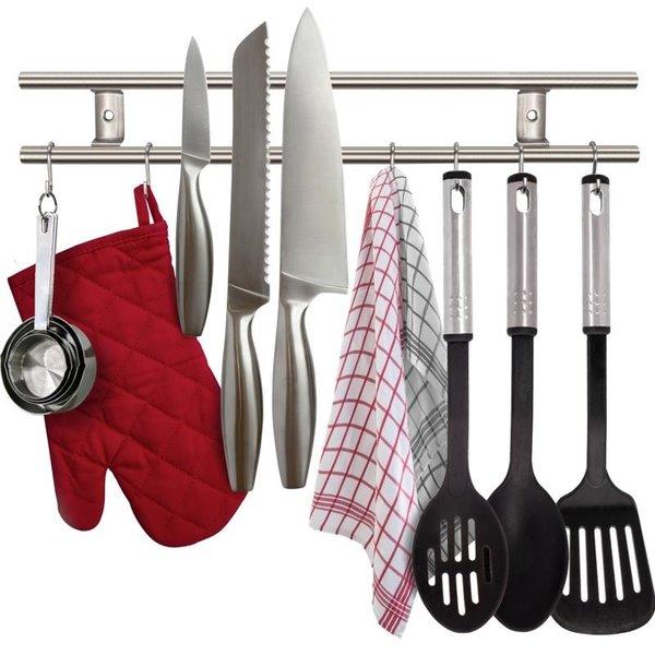 Support pour couteaux et ustensiles magnétique de Danesco