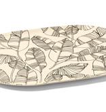 Ricardo Plateau de service couleur sable en bambou de Ricardo