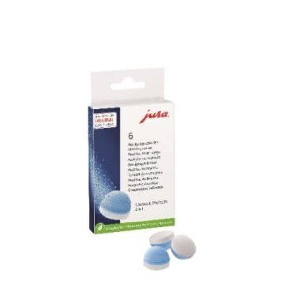 6 pastilles de néttoyage 2 phases de Jura