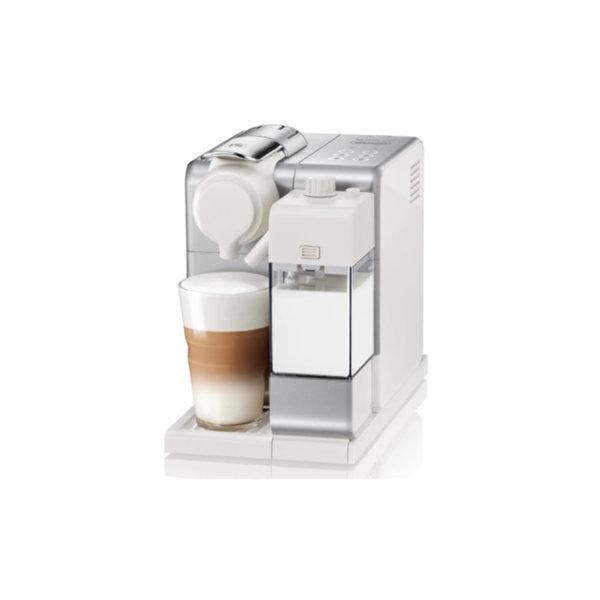 Machine à capsules Nespresso  Lattissima Touch, argent givré