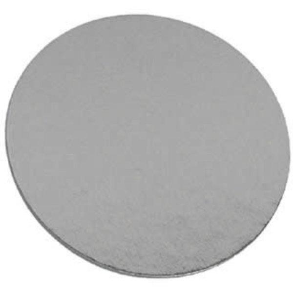 Laminated cake board 12in - Silver