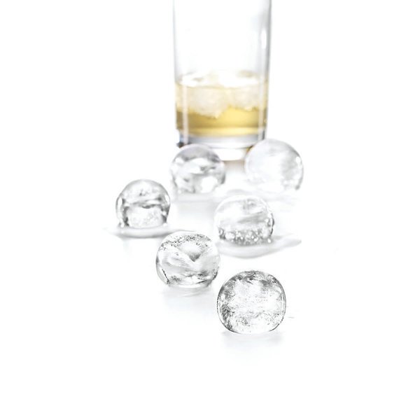 Ricardo Silicone Round Ice Cube Mould