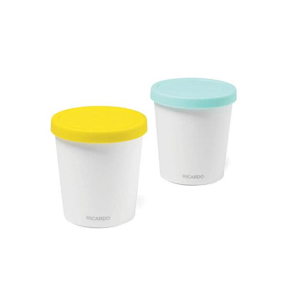 Contenant hermétique à crème glacée (1 L) Ricardo