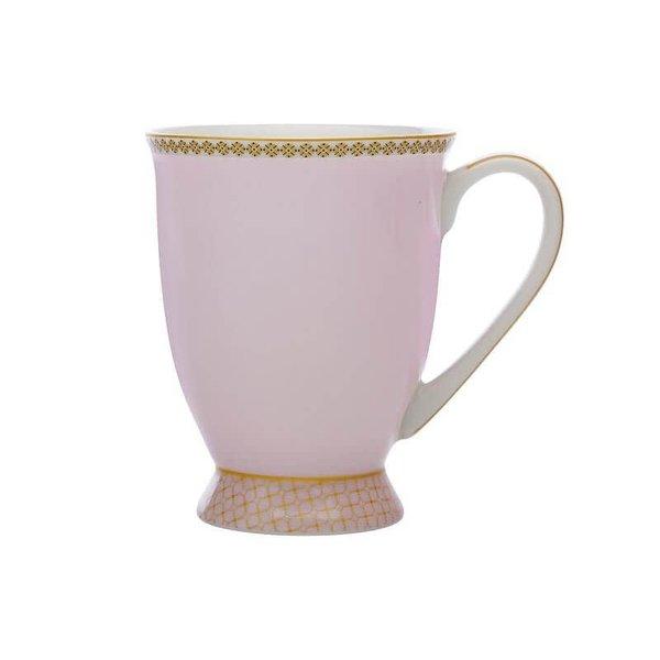 Teas & C's Contessa Classic Footed Mug 300ML Rose