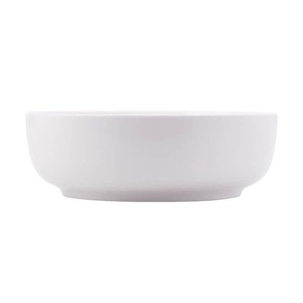 White Basics Contemporary Serving Bowl 25x8cm