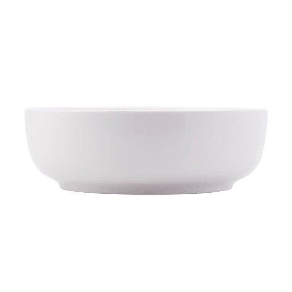 Bol service 20x6cm en porcelaine blanc Maxwell & Williams