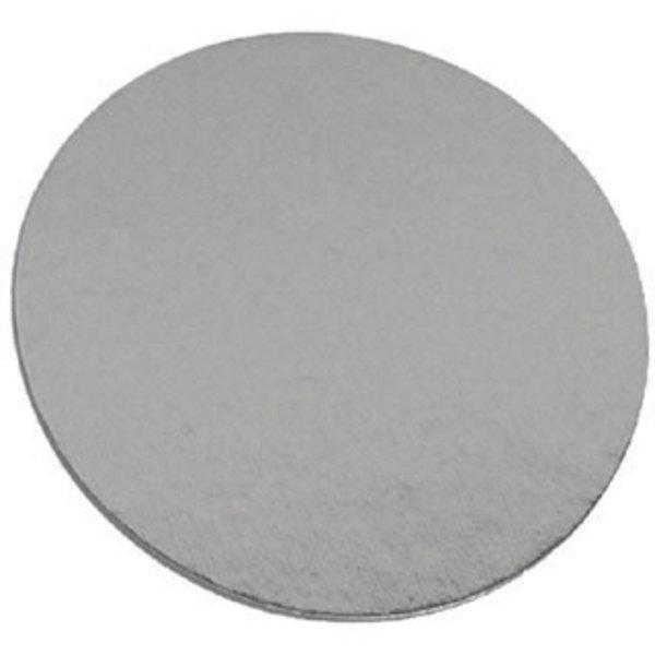 Laminated cake board 6in - Silver