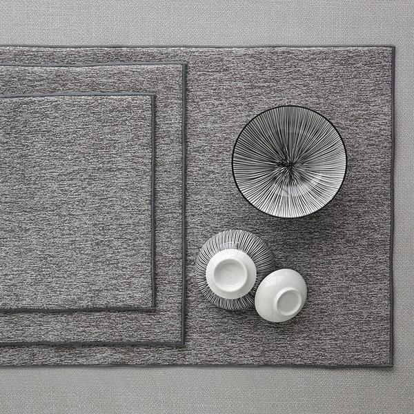 Harman ''Well Kept'' Heathered Drying Mats Grey Set of 3