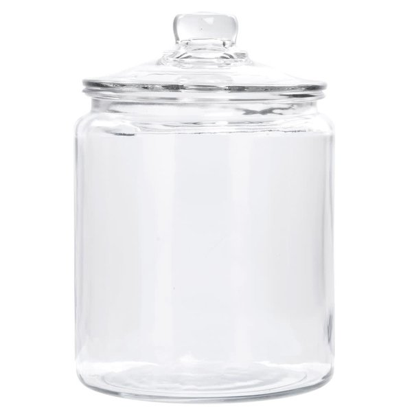 Anchor 1/2 gallon Heritage Hill Jar With Glass Lid