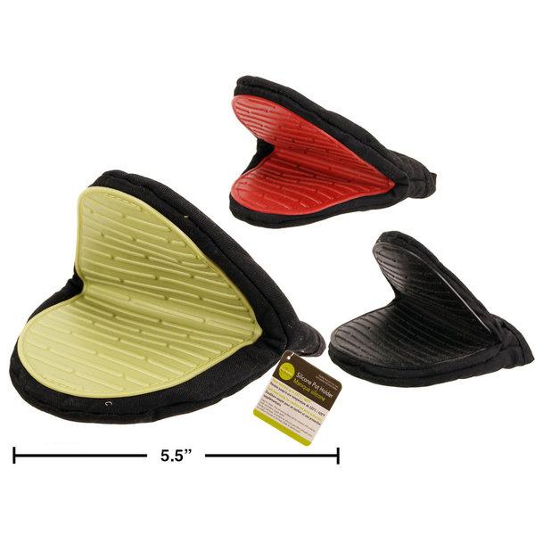 """Manique silicone 6"""", 3 couleurs disponibles"""