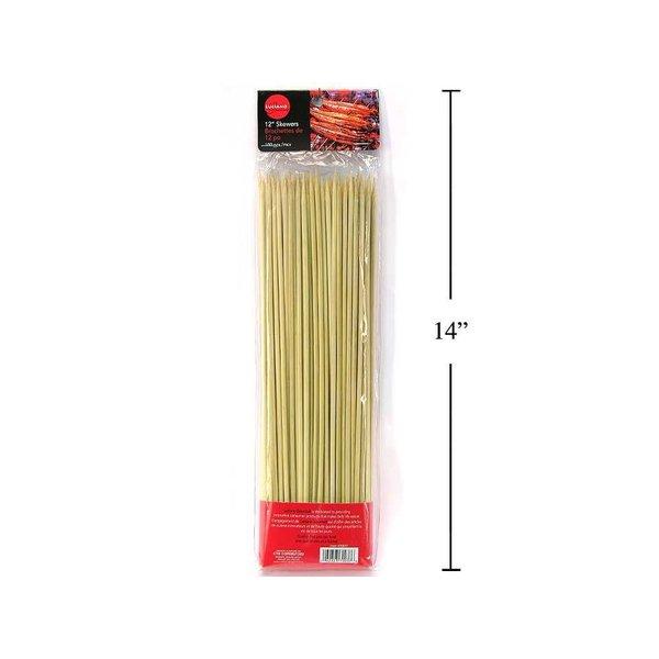 "Luciano Set of 100 Roasting Sticks 12"""