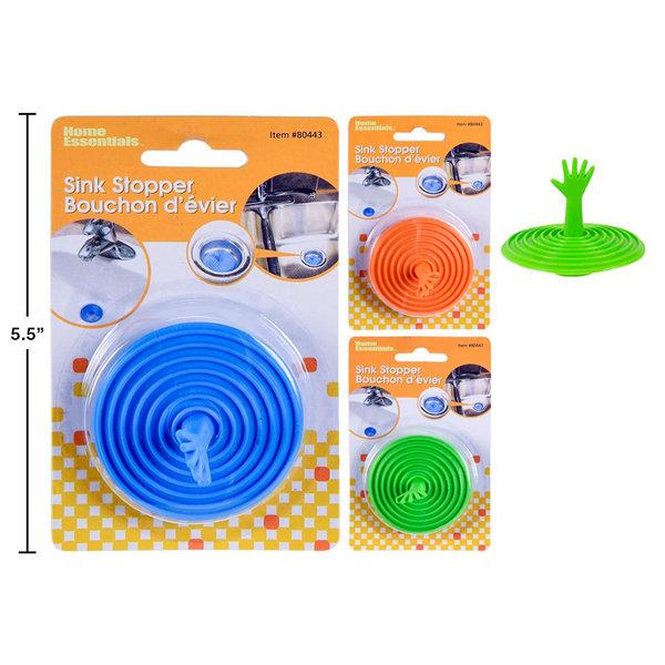 Bouchon d'évier, 3 couleurs disponibles