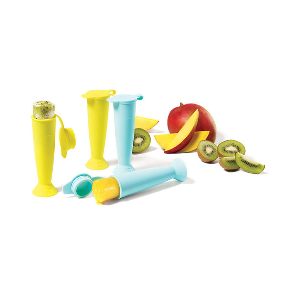 Ricardo Set of 4 Silicone Popsicle Moulds