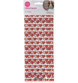 Wilton Wilton Rosanna Pansino 16-Bit Heart Treat Bags, 16-Count