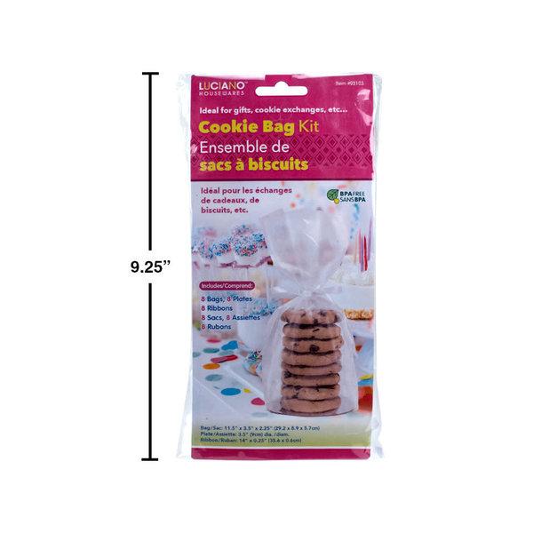 Ensemble de 24 sacs à biscuits de Luciano
