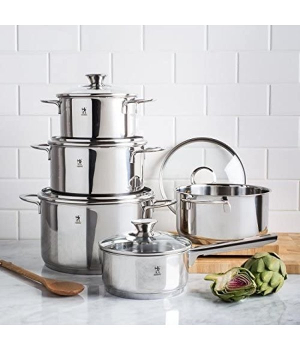 HENCKELS Biarritz 10 Piece Cookware Set