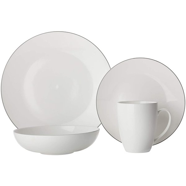 Maxwell & Williams 16pc Edge Dinnerware Set