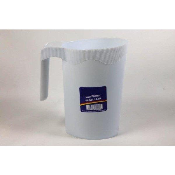 Pichet a lait 1L / 35oz en plastique