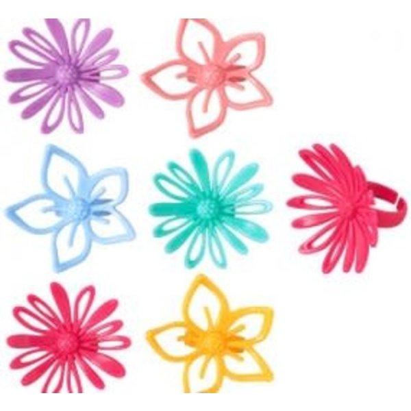 Bague Fleur 3D Perlée Assortie de Vincent Sélection