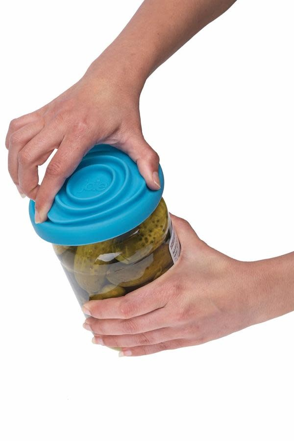 Va au Lave-Vaisselle D/écapant de Couvercles Accessoires de Cuisine Gadgets Ouvre-bouteille de Bocal en Acier Inoxydable Senbos Ouvre-bocal R/églable /à Bonne Adh/érence Ouvre-bouteille de Bocal Manuel
